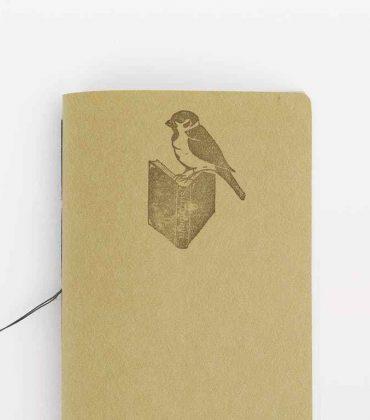 Words waving notebook